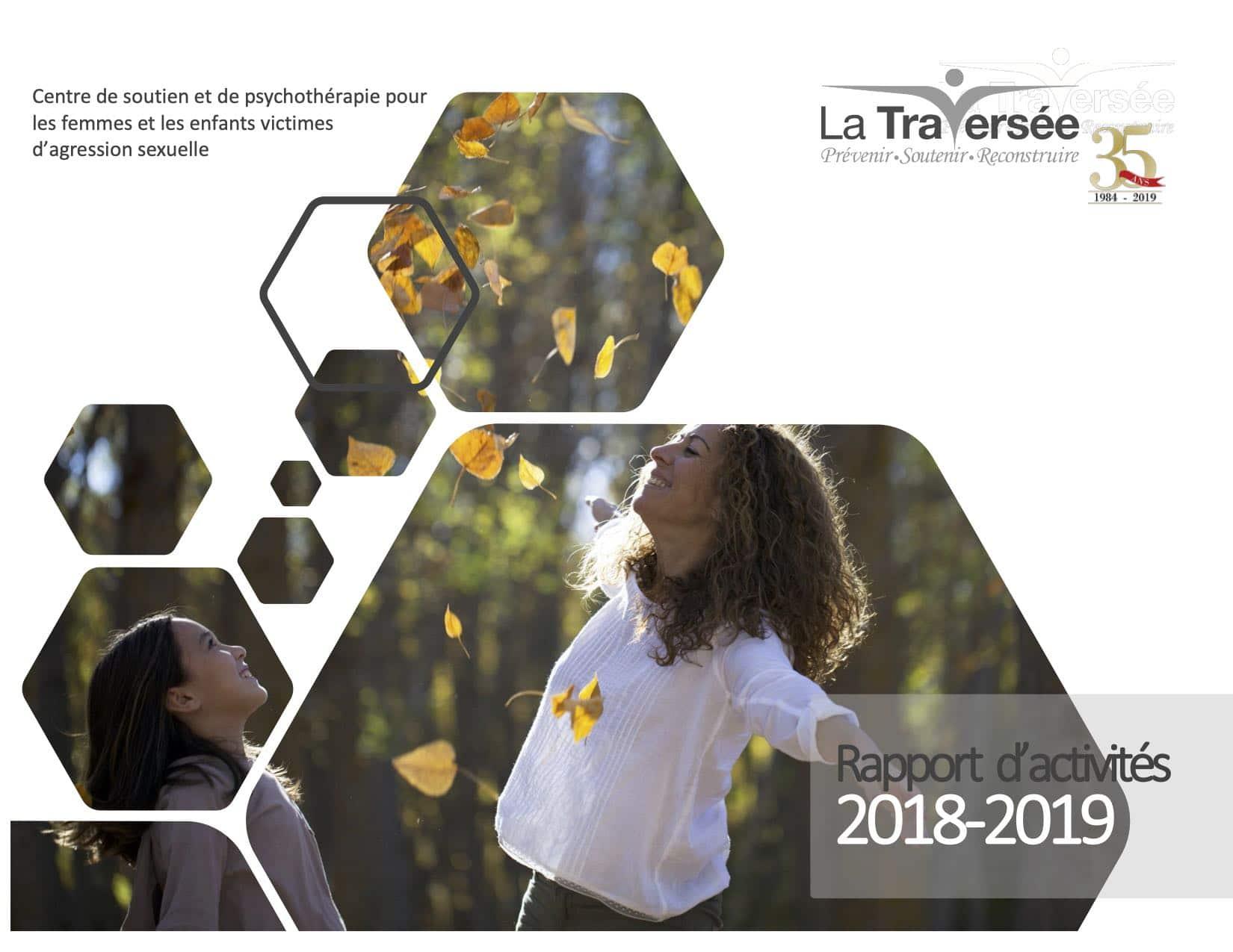 La Traversée - Rapport d'activités 2018-2019